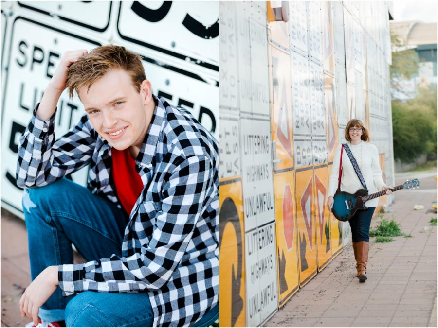 Downtown Phoenix Senior Portraits Jenn Sutton Photography